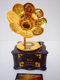 Cajita Musical Antigua Vitrola Fonógrafo Gramófono (nuevo)