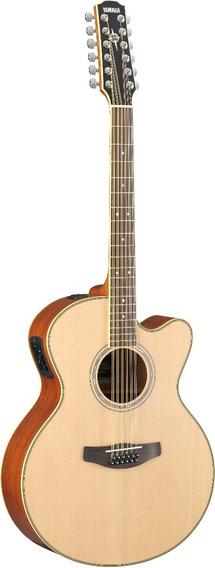Guitarra Electroacustica Yamaha Cpx700 Ii Nat. Funda Envío