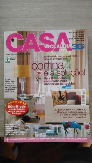 4(quatro) Revistas - Casa Cláudia