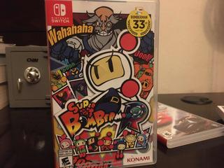 Super Bomberman Switch Seminuevo Precio Negociable