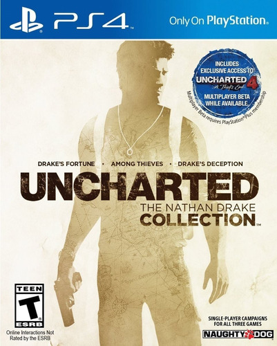 Uncharted Nathan Drake Collection Ps4 Original + Garantía