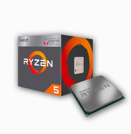 Processador Am4 Ryzen5 2400g 3.6ghz 6mb(3.9ghz Max Turbo),