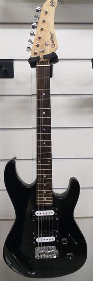 Guitarra Stratocaster Preta Waldman Gtu-1