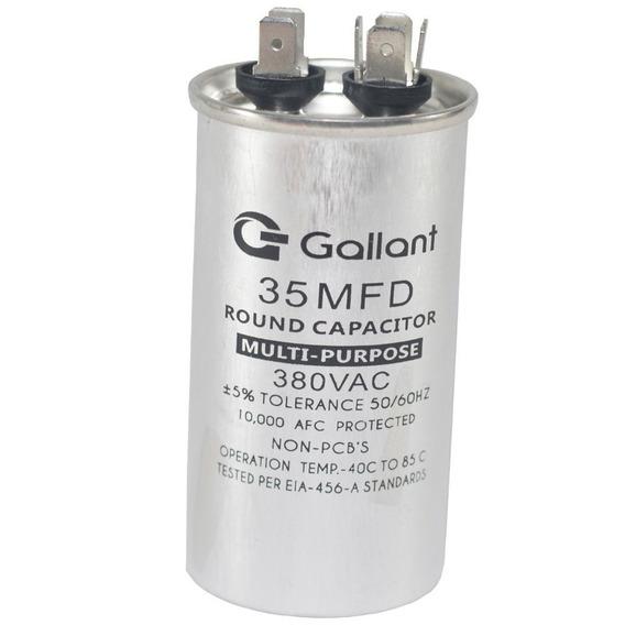 Capacitor Cbb65 Gallant 35mf +-5% 380 Vac Gcp35s00a-ix380