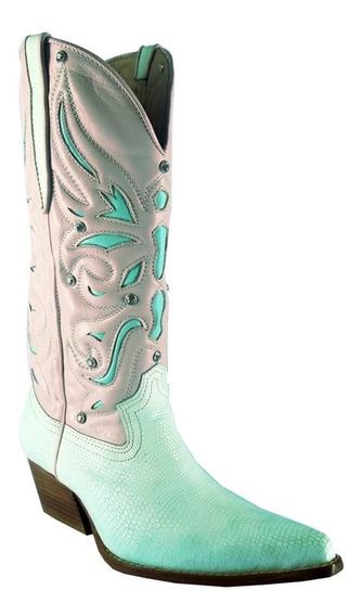 Bota Feminina Texana Country C/strass Cód. Dlvs-c05