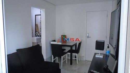 Imagem 1 de 30 de Apartamento Com 1 Dormitório Para Alugar, 35 M² Por R$ 3.300,00/mês - Perdizes - São Paulo/sp - Ap10085