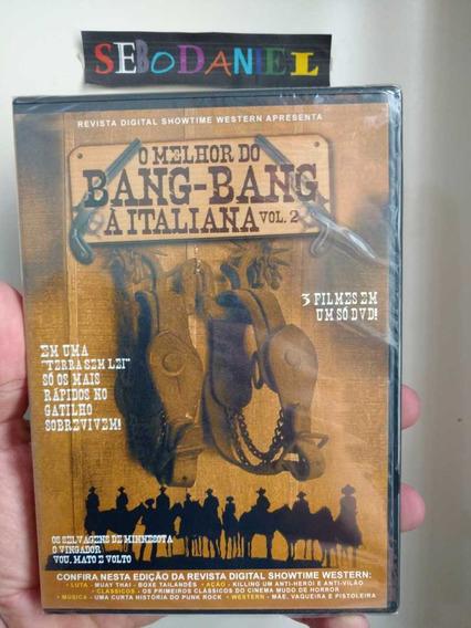 Dvd O Melhor Do Bang Bang Italiana Vol 2 - 3 Filmes Lacrado