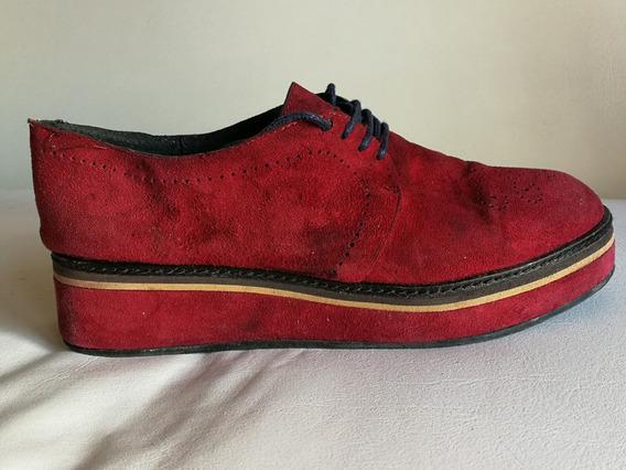 Zapato Gamuzon Cardon (cuero Vacuno Natural)