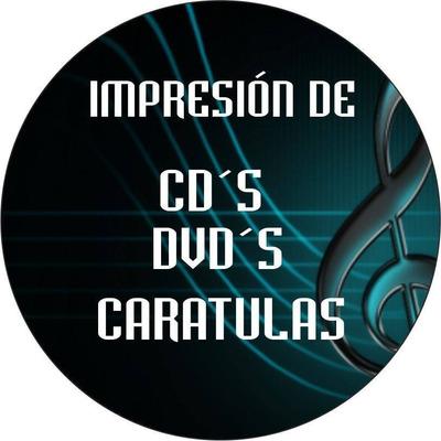 Impresión De Cds Y Cds. Caratulas Y Suministros
