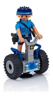 Policial Veiculo Hoverboard Playmobil City Action 6877 Sunny