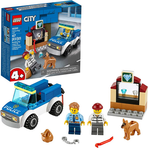 Lego 60241 City Police - Juguete De Policía Para Niños 67 Pz