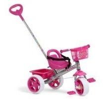 Triciclo Infantil Bandeirante Smart 220 Rosa