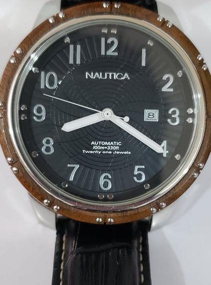 Reloj Para Caballero Nautica Automático No..gucci..burberry