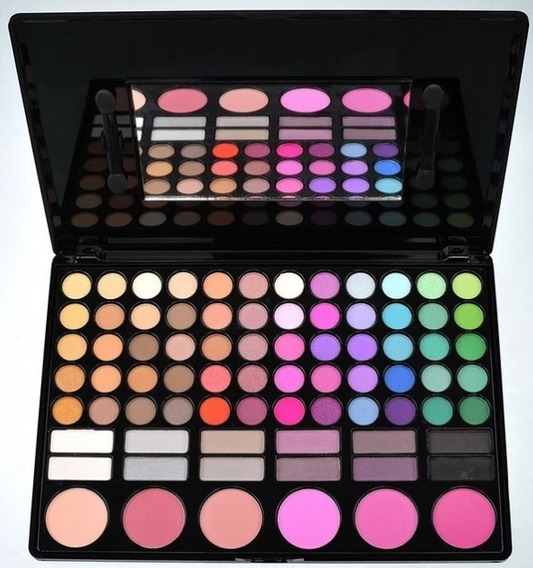 Paleta Sombras,iluminadores Y Rubores Importada Profesional Make Up!! 78#02