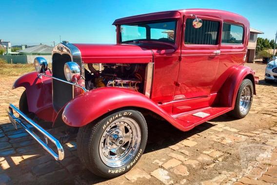 Ford Tudor 1930 30 - Hot Rod - V8 350 - Antigo
