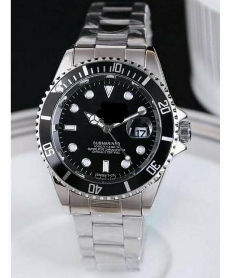 Relógio Masculino Luxo Com Calendário Kit Com 03 Unidades