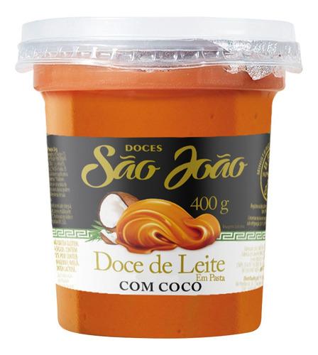 Doce De Leite Com Coco Pote 400g São João