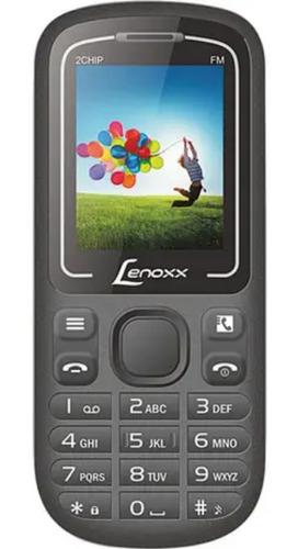 Celular Dual Chip E Bluetooth Lenoxx Preto E Azul Cx904_pa