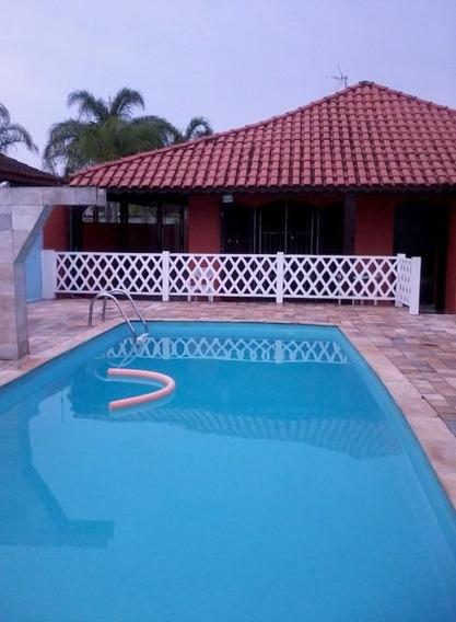 Casa Itanhaém 3 Quartos, Piscina,churrasqueira, 500mda Praia