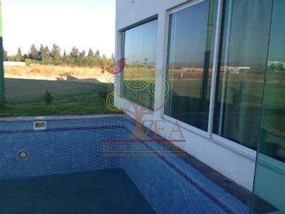 Renta Hermosa Casa Con Vista Al Green En Alquerias!!