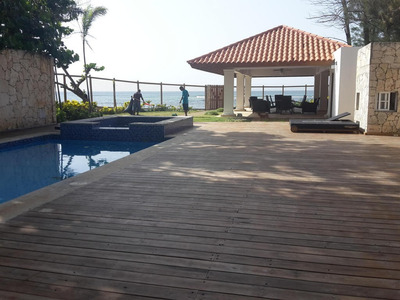 Hermosa Casa De Playa 2niveles Amoblada 2cocinas Piscina 6ha