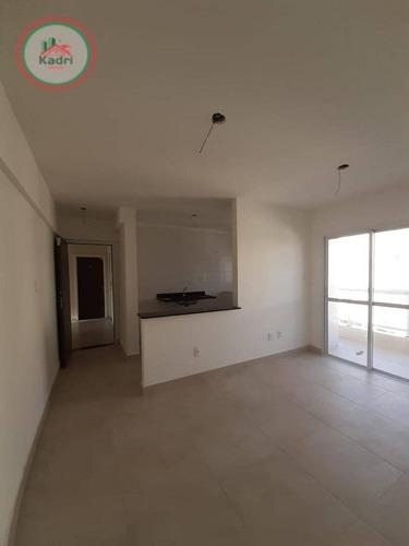 Apartamento Com 2 Dormitórios À Venda, 63 M² Por R$ 324.000,00 - Vila Guilhermina - Praia Grande/sp - Ap4969