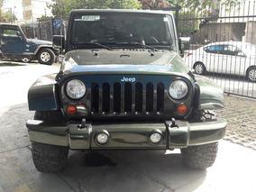 Jeep Wrangler X Unlimited 4x2 Aut, Verde 2007, Excelente