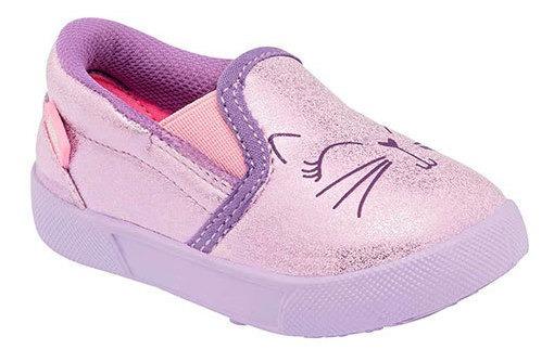 Sneaker Formal Bordado 94168dtt Brillantina Niña Glitter