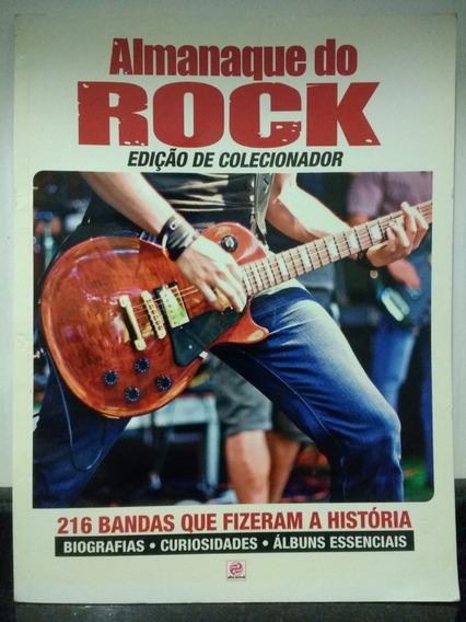 Revista Almanaque Do Rock 1 Edição De Colecionador 2016 Rjhm
