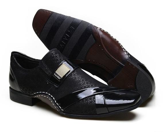 Sapato Social Masculino Artesanal Calvest Luxo