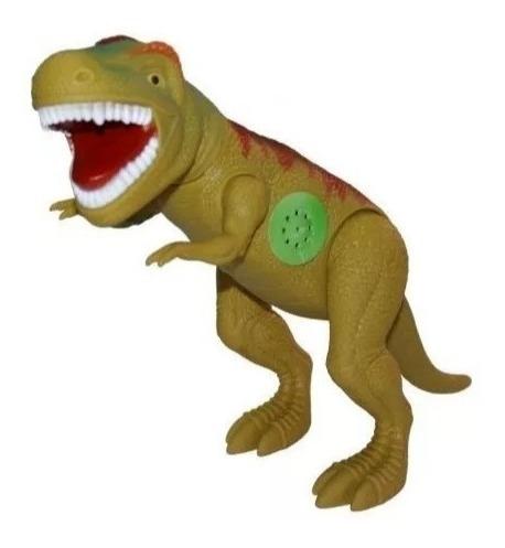 Dinossauro Tirano Rex 43cm Emite Som - Adijomar - Verde