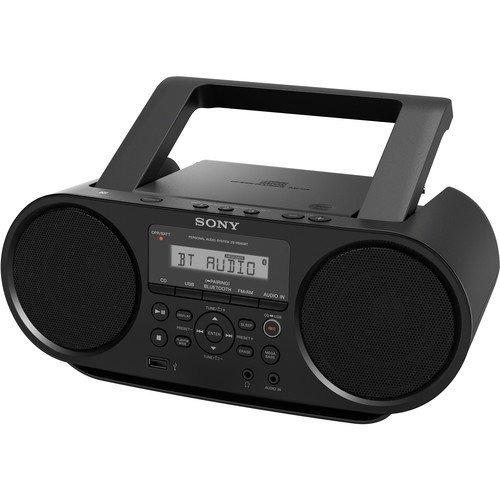 Imagen 1 de 6 de Sony Sintonizador Digital Portátil Bluetooth Amfm Radio Rep