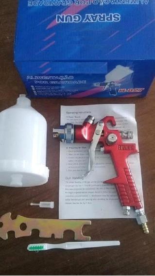 Pistola Para Pintura-para Compressor De Baixa Pressão-otima