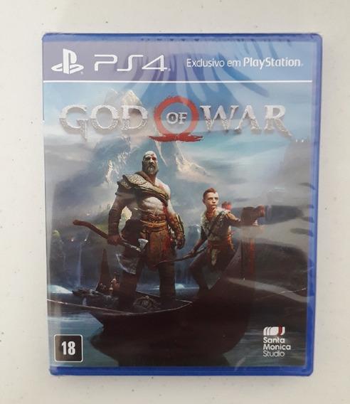 God 4 Ps4 Mídia Física Dublado Português God Of War 4 Novo