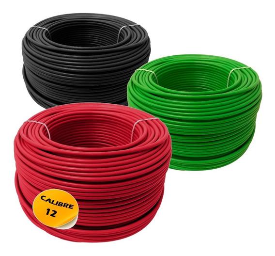 Combo: Dos Caja Cable Calibre 12 Y Una Caja Calibre 14
