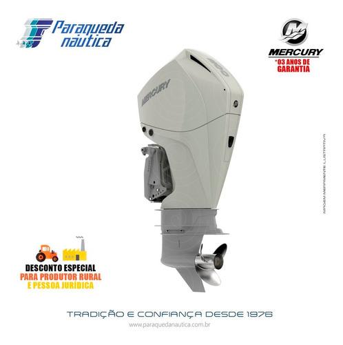 Motor De Popa Mercury 4 Tempos 200hp L Efi V6 Dts Branco