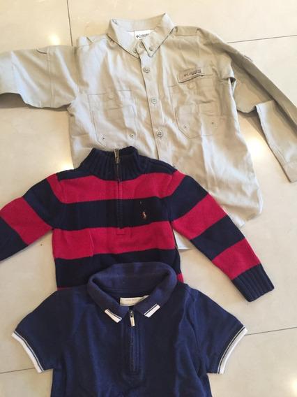 Camisa Columbia Talla 4