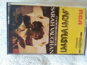 Sarah Vaughan O Som Brasileiro Fita Cassete Antiga Rara