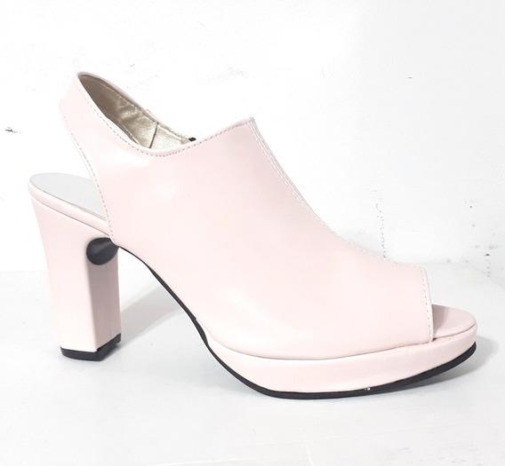 Huma10 Zapato Zueco B/p Talles Grandes Mujer N