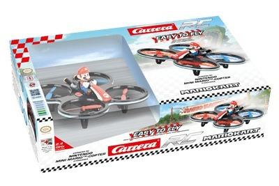 Mini Drone Mario-coptero Carrera Rc E Nintendo Exclusivo!