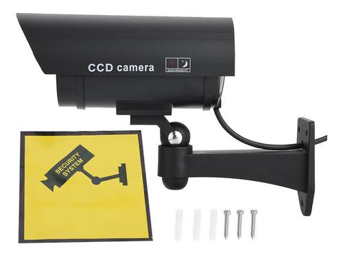 Dummy Fake Vigilância Cctv Câmera De Segurança Com Flashi