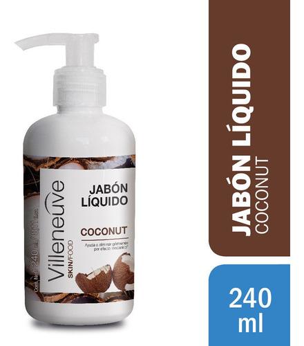 Jabon Liquido Villeneuve Coco X 240 Ml