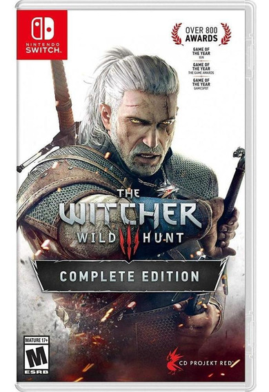 The Witcher 3 Wild Hunt Complete Edition Switch Mídia Física