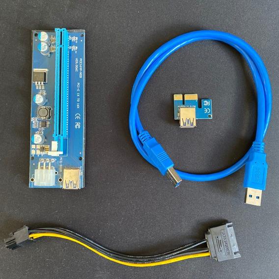 Riser Card Usb 3.0 Pci-e 1x Para Pci-e 16x (extender)