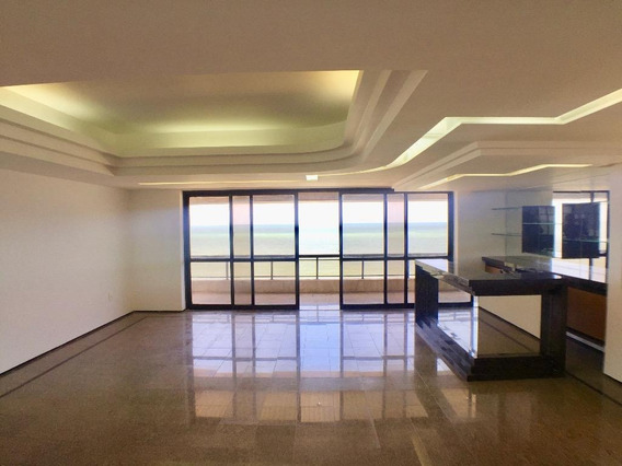 Apartamento Com 4 Quartos Para Alugar, 363 M² Por R$ 10.180/mês - Boa Viagem - Recife/pe - Ap1283