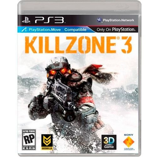 Killzone 3 Ps3 Midia Fisica Original