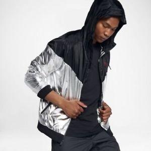 Nike Jacket Hoodie Metalizada Correr Windrunner Cab 924515