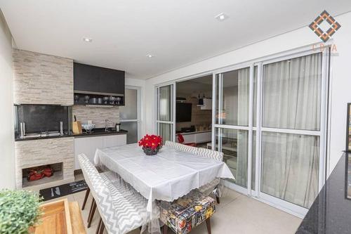 Apartamento Com 2 Dormitórios À Venda, 94 M² Por R$ 990.000,00 - Vila Santa Catarina - São Paulo/sp - Ap50246