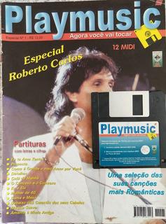 Revista Playmusic Especial Nº 1 Roberto Carlos Com Disquete