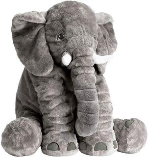 Peluche Elefante Almohada Infantil Para Bebés Y Niños